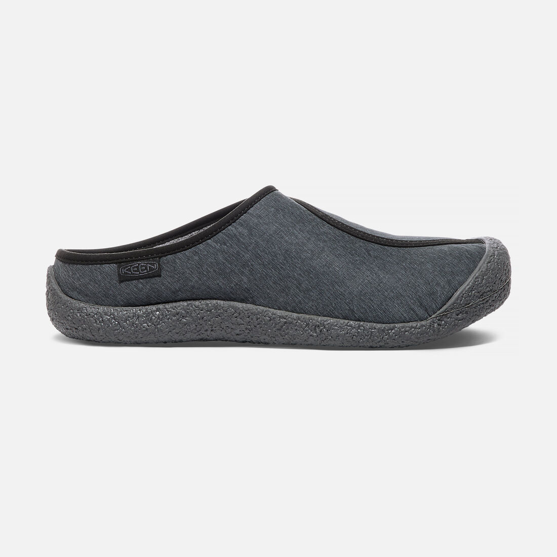 Men's HOWSER DOWN SLIDE in Black/Magnet - large view.