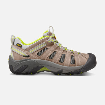 Women's Voyageur in Neutral Gray/Lime Green - large view.