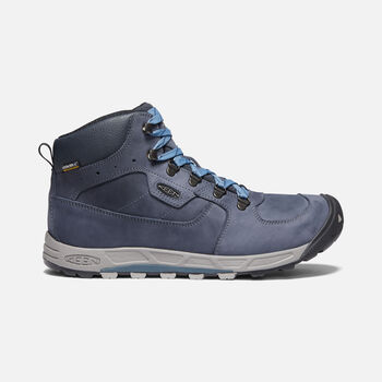 Men's Westward Leather Waterproof Mid in DARK SEA/NIGHT - large view.