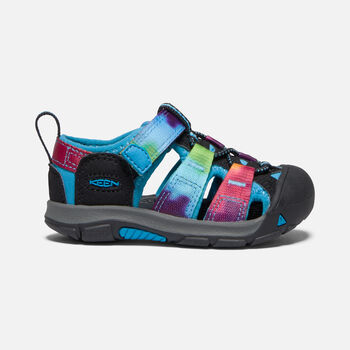 Toddlers' Newport H2 in RAINBOW TIE DYE - large view.