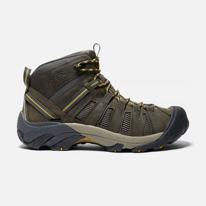 Men's Voyageur Mid in Raven/Tawny Olive - large view.