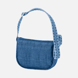 Women's Montclair Mini Bag (Cross Hatch) in Cobalt - small view.