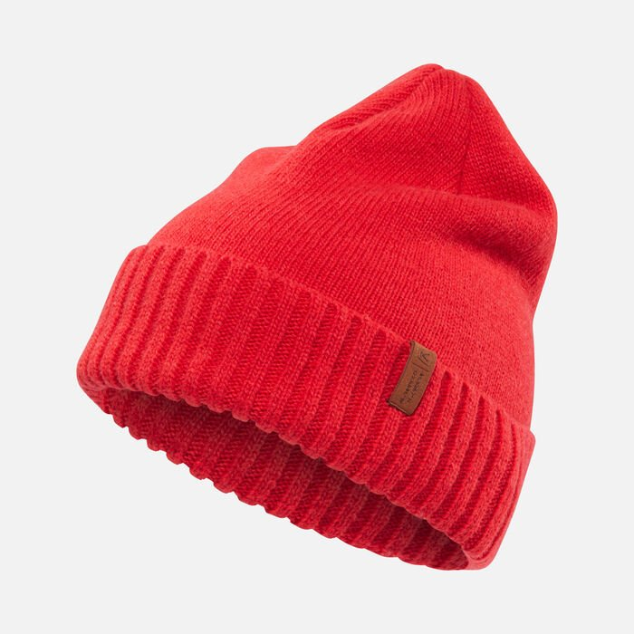 Locale Beanie in RED - large view.