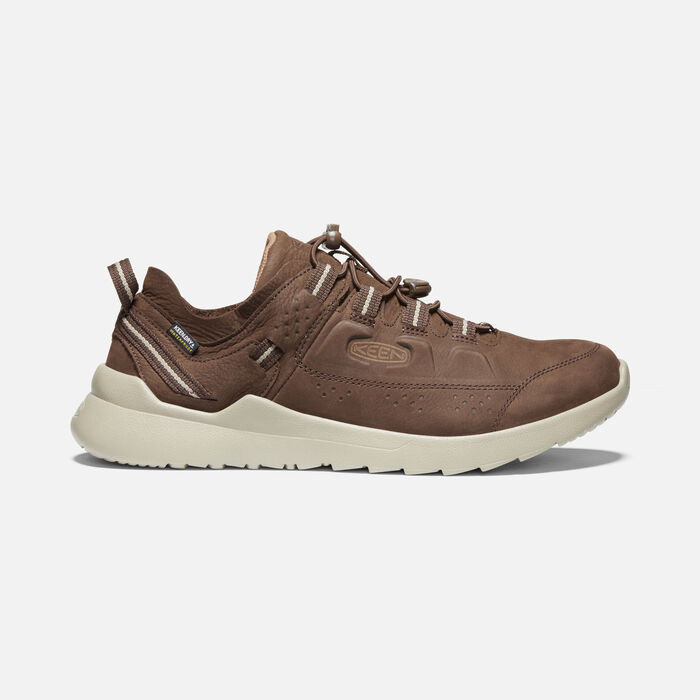Men's Highland Waterproof Casual Trainers in Chestnut/Silver Birch - large view.