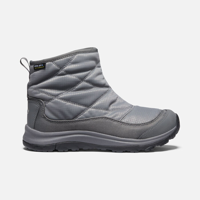 Women's Terradora II Winter Waterproof Pull On in PEWTER/Drizzle - large view.