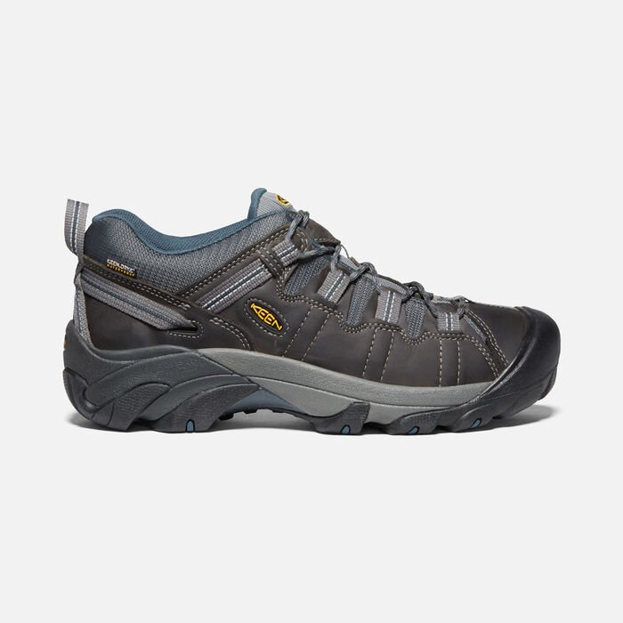 Men's Targhee II Waterproof in Gargoyle/Midnight Navy - large view.