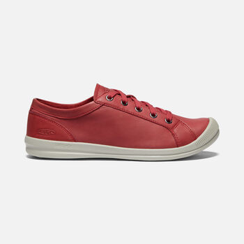 Women's LORELAI SNEAKER in GARNET - large view.