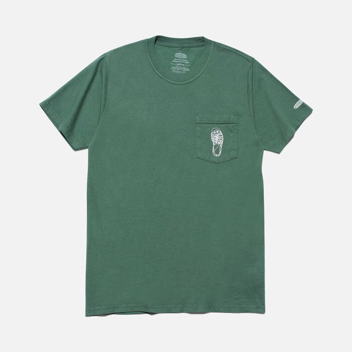 POCKET Tシャツ NEWPORTH2 in Forest Green - large view.