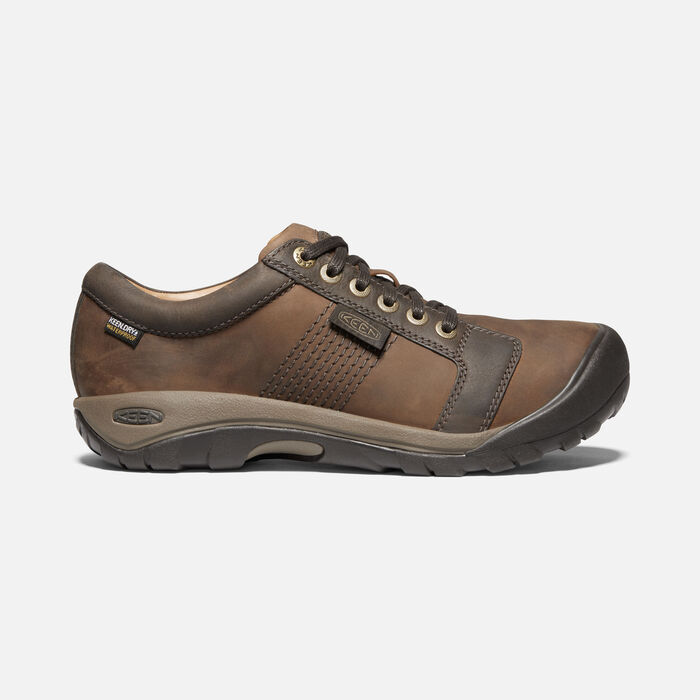 Men's Austin Waterproof in Chocolate Brown - large view.