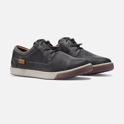 MEN'S GLENHAVEN CASUAL TRAINERS in Black - small view.