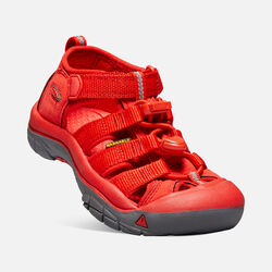 Little Kids' Newport H2 in FIREY RED - small view.