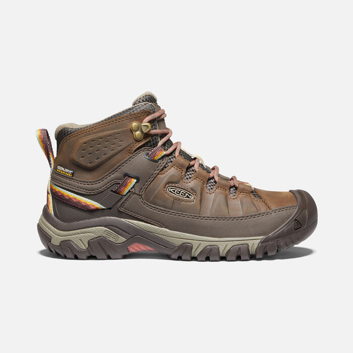 TARGHEE III MID WP POUR FEMME in Bungee Cord/Redwood - large view.
