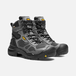 "Men's CONCORD 6"" Waterproof Boot (Steel Toe) in Steel Grey/Black - small view."