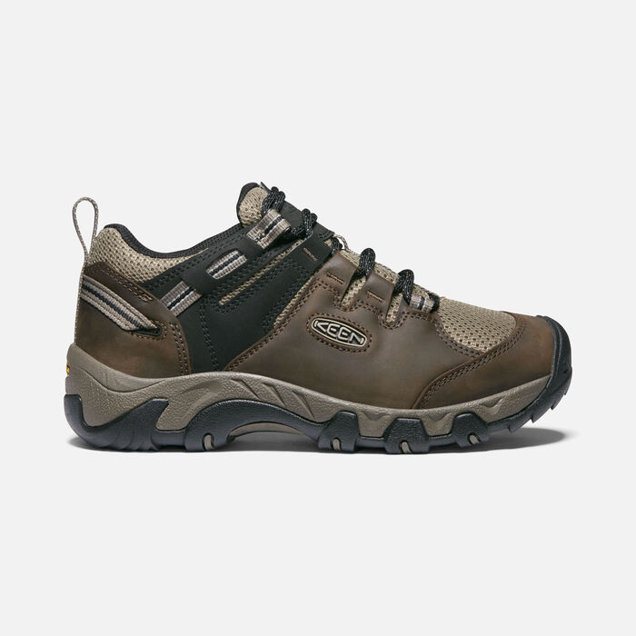 Men's Steens Vent Shoe in Canteen/Brindle - large view.
