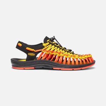 Men's UNEEK Flat Cord in VIBRANT YELLOW/FLAME - large view.
