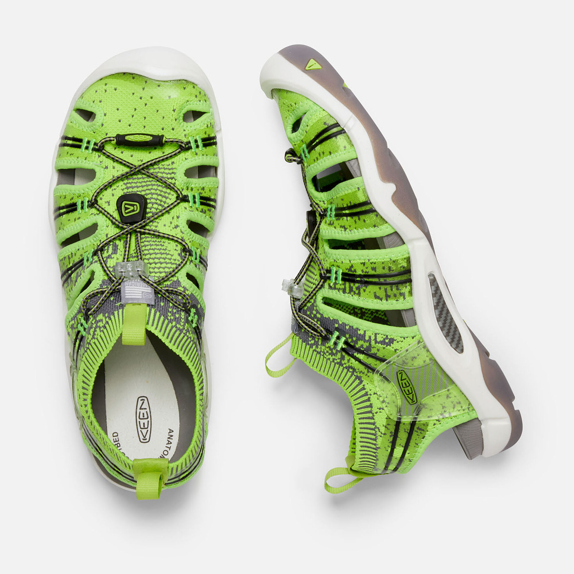 d375a3627667 Men s EVOFIT ONE in LIME GREEN - small view.