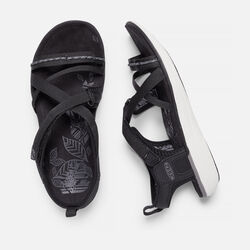 Women's Maya Strap in Black/Gargoyle - small view.