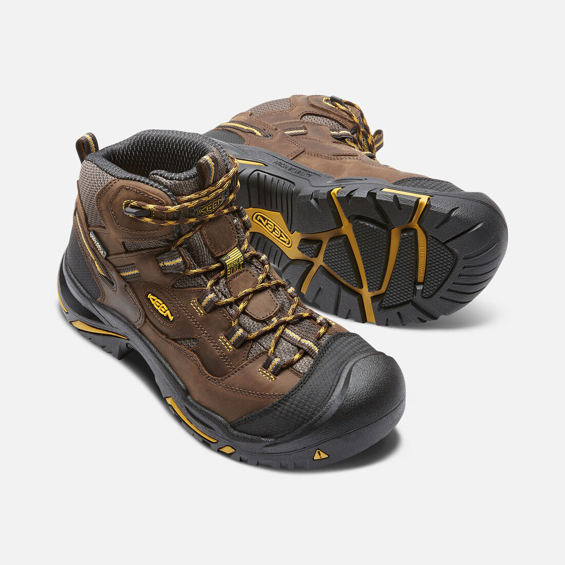 Men's Braddock Waterproof Mid (Steel Toe)