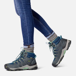 Women's Gypsum II Waterproof Mid in  - on-body view.