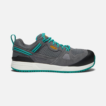 Women's Springfield (Aluminum toe) in Steel Grey/Lake Blue - large view.