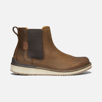 WOMEN'S BAILEY CHELSEA CASUAL BOOTS in VEG BROWN - large view.
