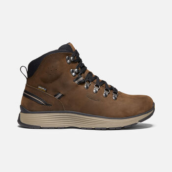 "Men's MANCHESTER 6"" WP (SOFT TOE) in CASCADE BROWN/BRINDLE - large view."