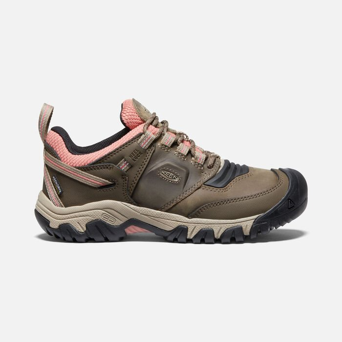 Women's Ridge Flex Waterproof in Timberwolf/Brick Dust - large view.