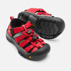 Little Kids' Newport H2 in RIBBON RED/GARGOYLE - small view.