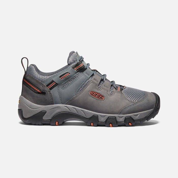 Men's Steens Vent Shoe in Steel Grey/Picante - large view.