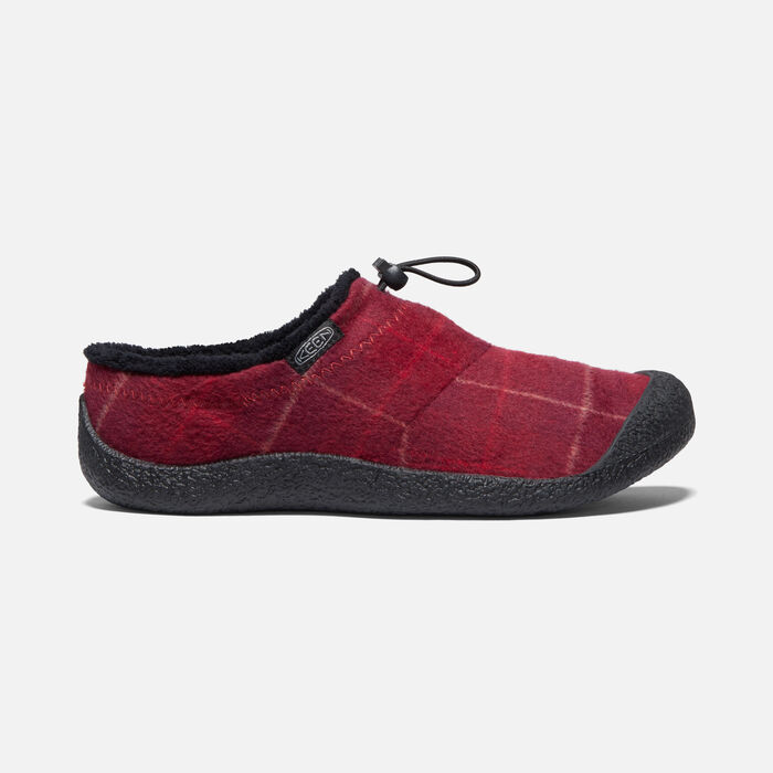 Women's Howser III Slide in Red Plaid/Black - large view.