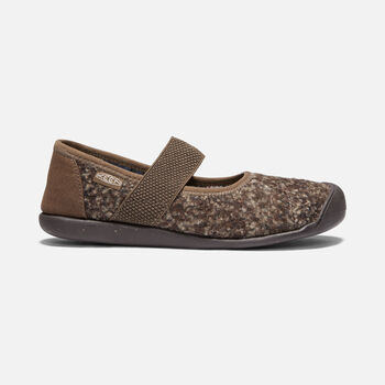 Women's SIENNA Wool Mary Jane in CANTEEN/PELICAN - large view.