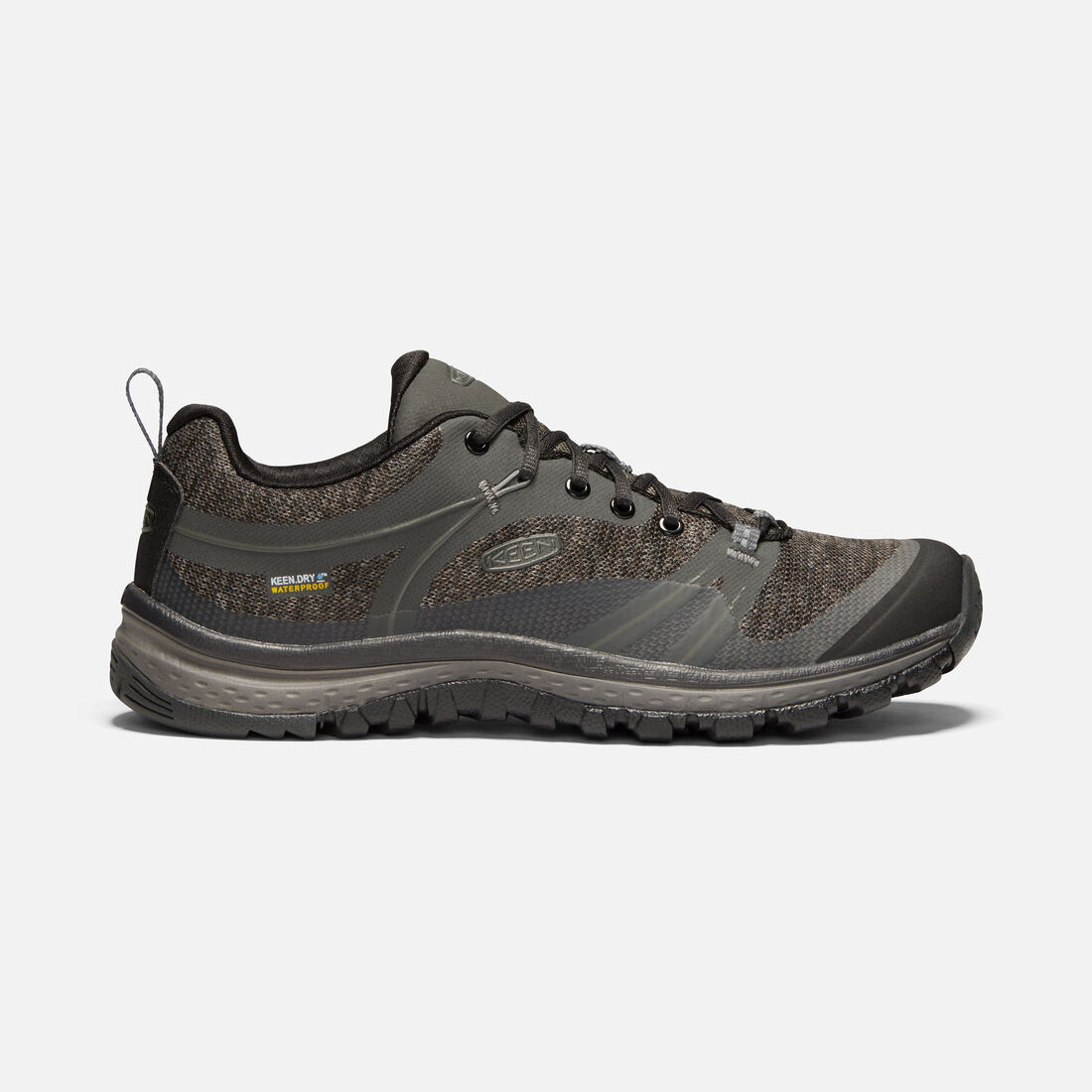 Women's TERRADORA Waterproof in RAVEN/GARGOYLE - large view.