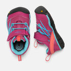 Toddlers' Chandler CNX Trainers in Very Berry/Capri - small view.