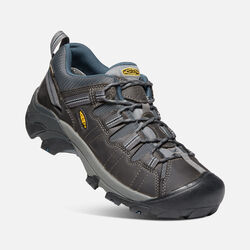 MEN'S TARGHEE II HIKING SHOES in Gargoyle/Midnight Navy - small view.