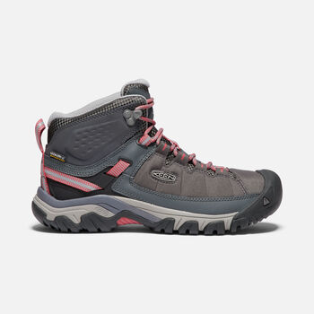 WOMEN'S TARGHEE EXP WATERPROOF MID HIKING BOOTS in MAGNET/TEABERRY - large view.