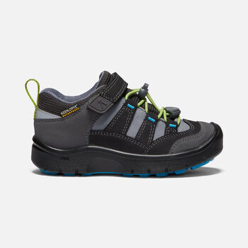Younger Kids' Hikeport Waterproof Hiking Trainers in MAGNET/GREENERY - large view.