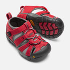 Toddlers' Seacamp II Cnx Sandals in RACING RED/GARGOYLE - small view.