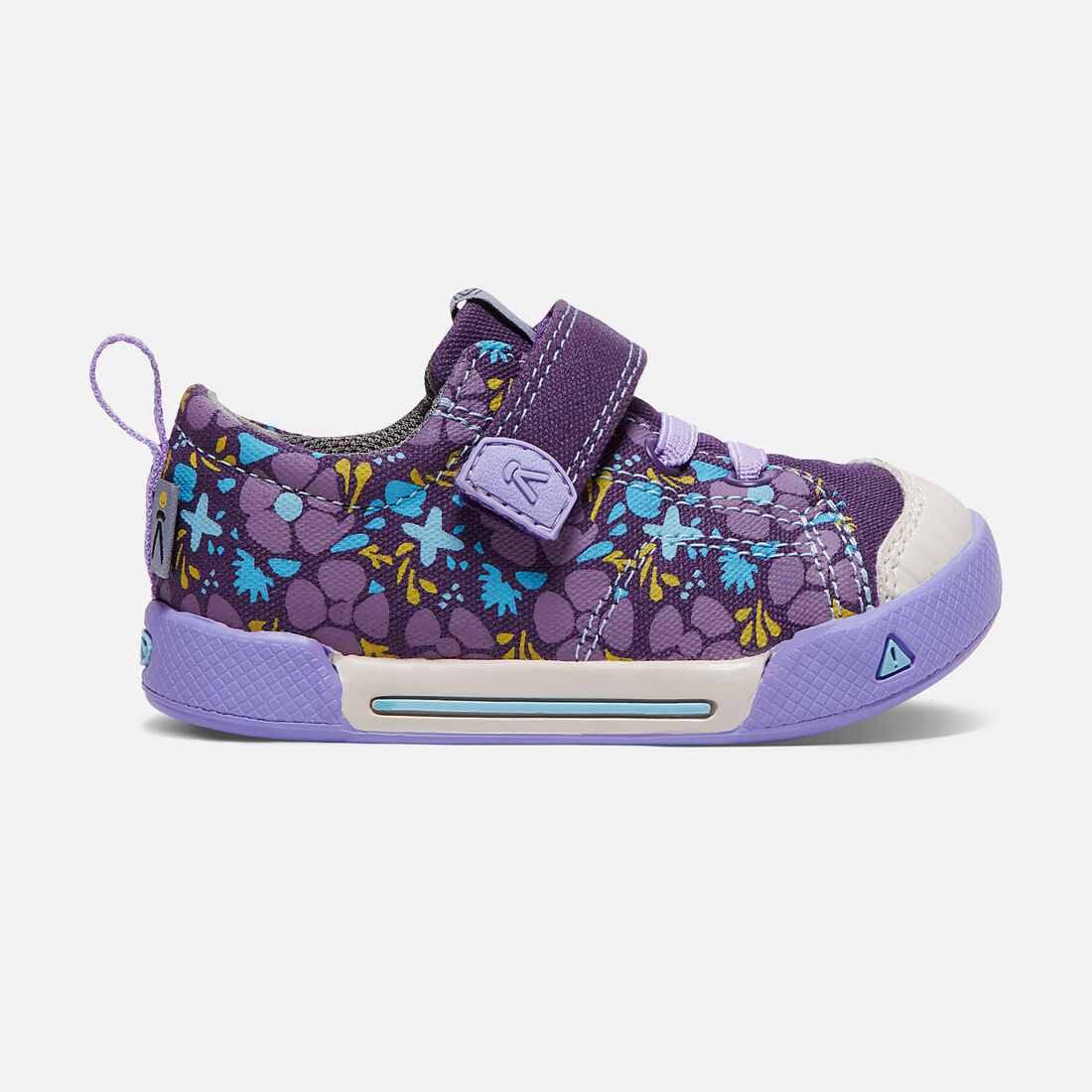 Toddler's ENCANTO FINLEY LOW in Purple Plumeria/Lavender - large view.