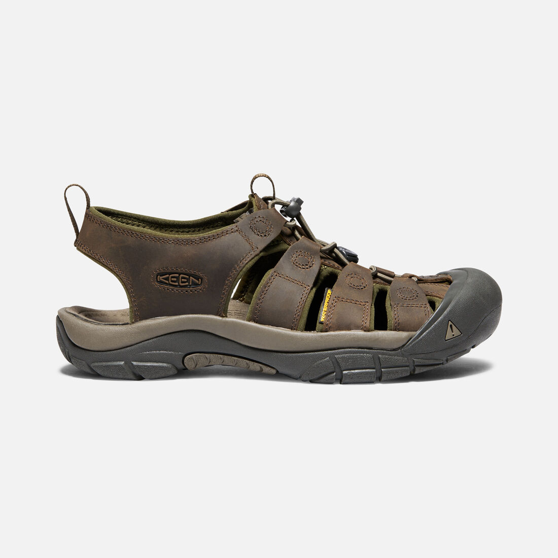 Men's Newport in CANTEEN/DARK OLIVE - large view.