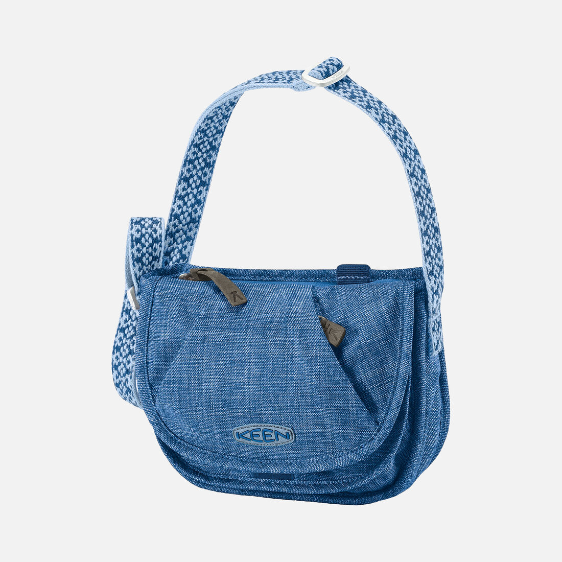 Women's Montclair Mini Bag (Cross Hatch) in Cobalt - large view.