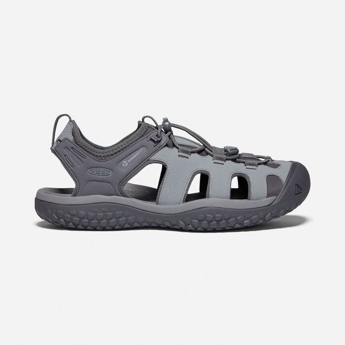 Men's SOLR Sandal in Steel Grey/Magnet - large view.