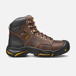 "Men's Mt Vernon 6"" Boot (Steel Toe) in Cascade Brown - small view."