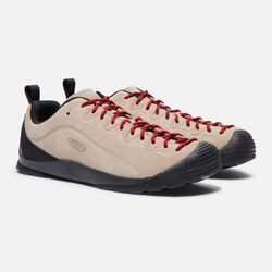 MEN'S JASPER CASUAL TRAINERS in SILVER MINK - small view.