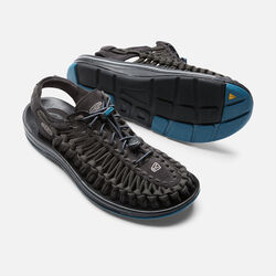 Men's UNEEK Flat Cord in Raven/Ink Blue - small view.