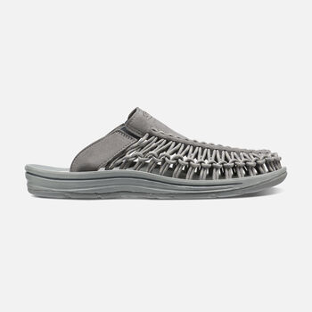 Men's UNEEK Slide in Gargoyle/Neutral Gray - large view.