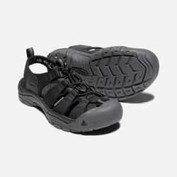 MEN'S NEWPORT ECO SANDALS in BLACK/MAGNET - small view.