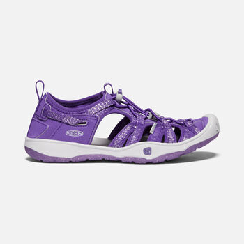 MOXIE SANDAL pour jeunes in Royal Purple/Vapor - large view.