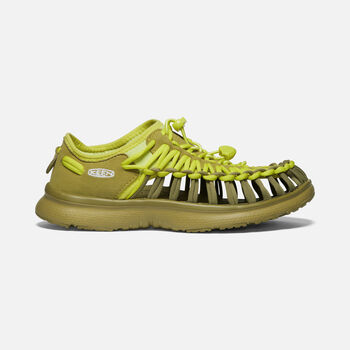 Women's UNEEK O2 in MOSS/SUNNY LIME - large view.