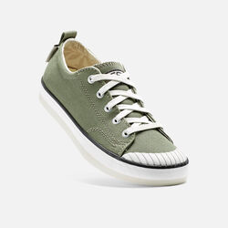 Women's ELSA SNEAKER in Deep Lichen - small view.