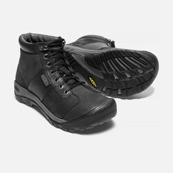 Men's AUSTIN Waterproof Mid in Black - small view.